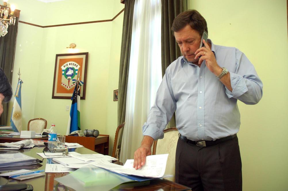 La expulsión de Weretilneck, en la agenda del FG