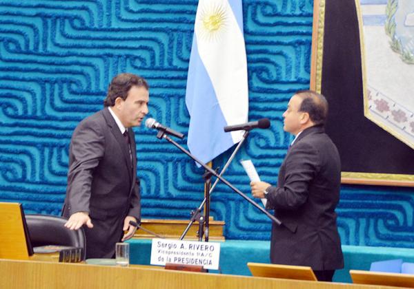 Pesatti asumió como nuevo vicegobernador de Río Negro