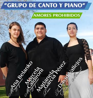 El Grupo de Canto y Piano de Fundación Cultural Patagonia se presenta en Catriel