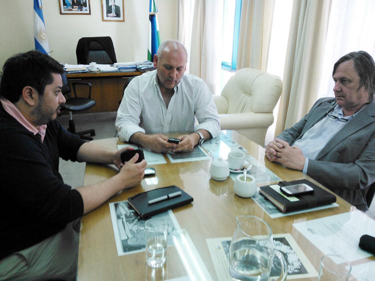 Johnston se reunió con el Ministro de Salud en Viedma