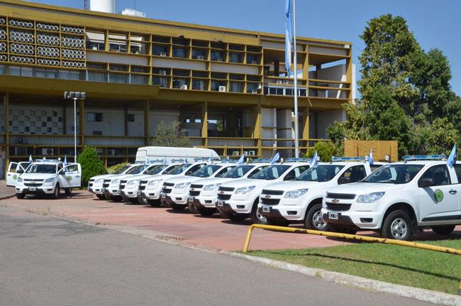 Móviles para la Policía pampeana