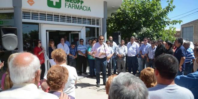 Nueva farmacia MEOPP en Catriel
