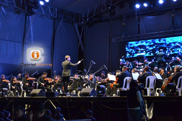 La Orquesta Filarmónica de Río Negro nuevamente en la Fiesta del Petróleo