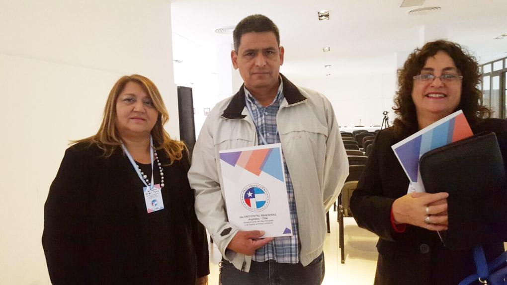 """2º encuentro binacional Argentina – Chile """"Corredor Bioceánico del Colorado y Pichachén"""""""