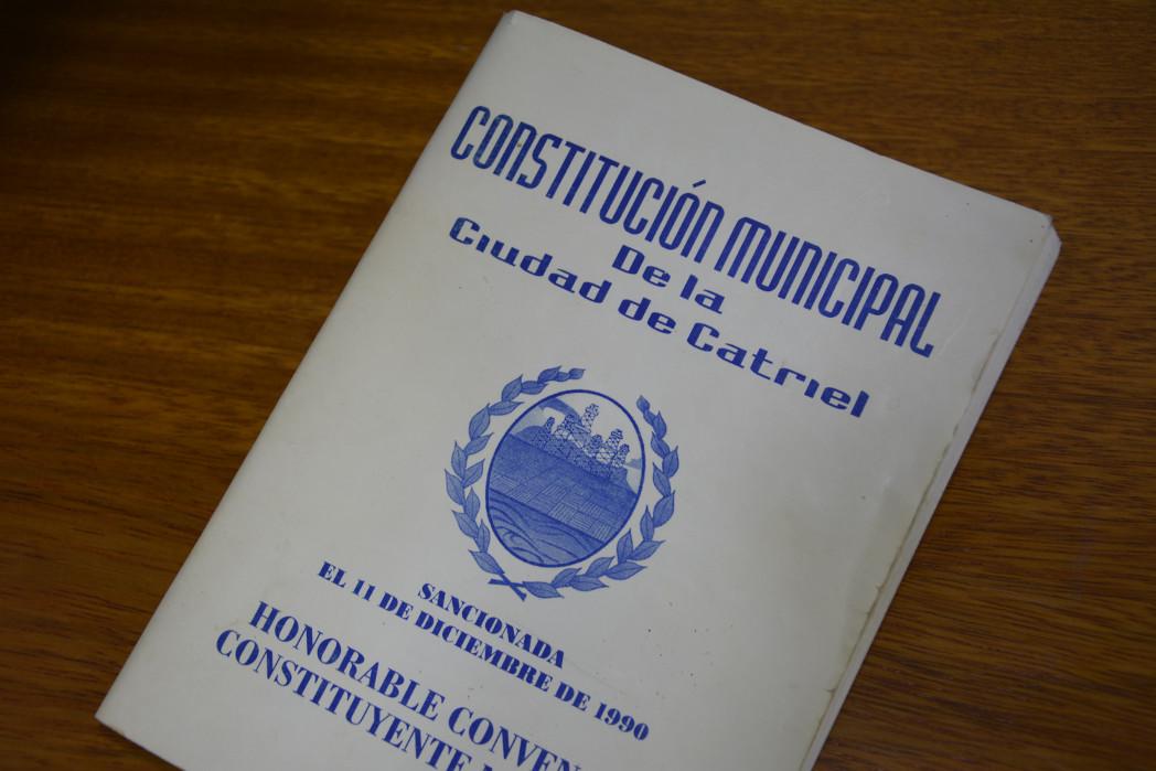 Se promulga la Ley para Elecciones Constituyentes Municipales en Catriel