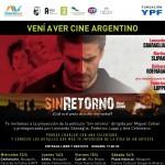 """La película """"Sin Retorno"""" se proyectará el viernes 15 de abril gratis con la presencia de una de sus actrices"""