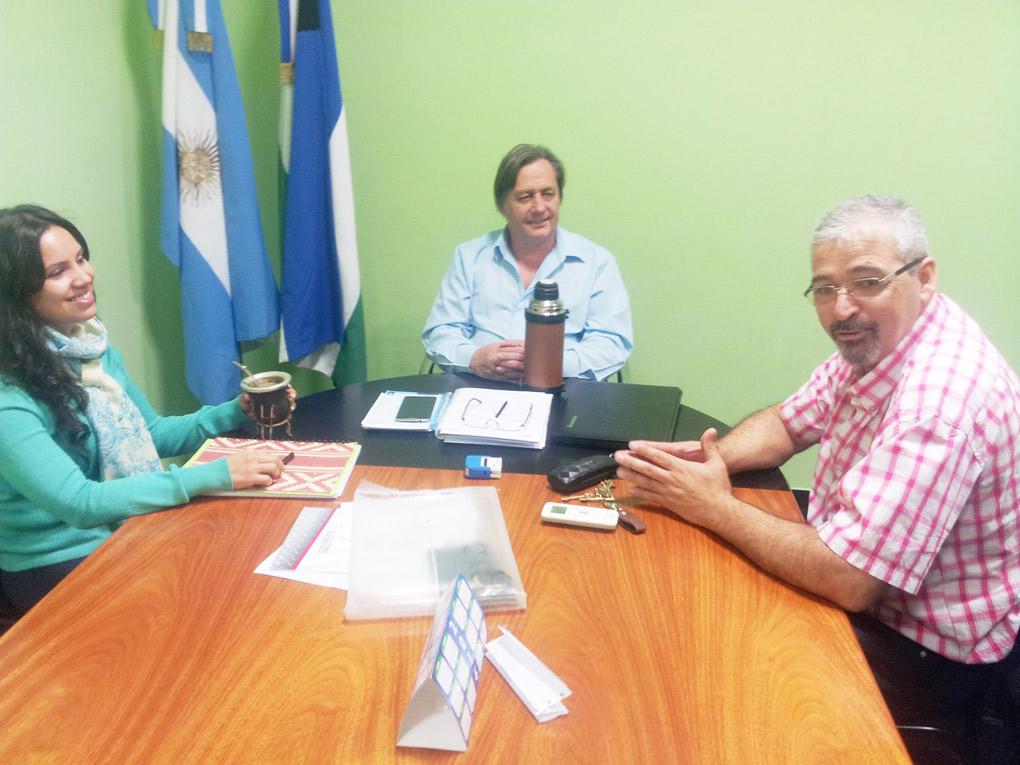 Reunión entre intendentes de Catriel y 25 de Mayo
