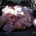 Decomisaron 400kg de carne. Un Catrielense involucrado